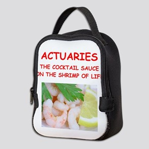 actuary Neoprene Lunch Bag