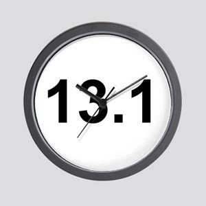 Half Marathon 13.1 Wall Clock