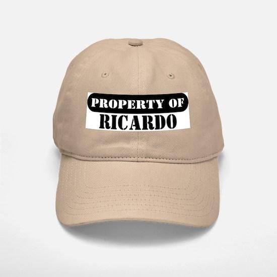 Property of Ricardo Baseball Baseball Cap