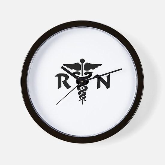 Nurse RN Wall Clock