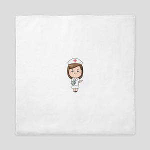 Nurse RN Queen Duvet