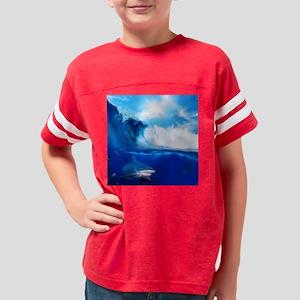 Shark Wave Youth Football Shirt