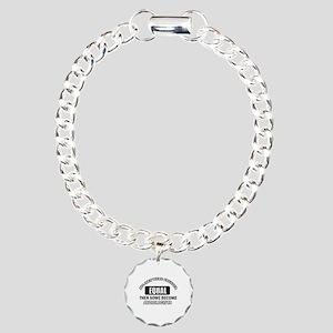 Cool Audiologists designs Charm Bracelet, One Char