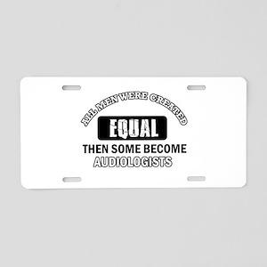 Cool Audiologists designs Aluminum License Plate