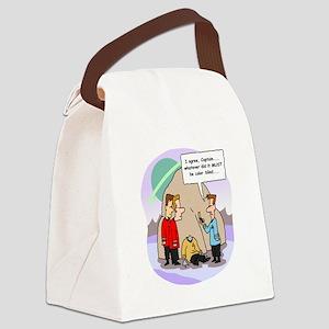 Star Trek Red Shirts Cartoon Canvas Lunch Bag