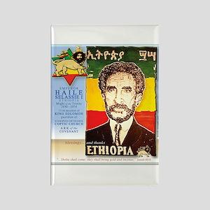 Haile Selassie I Rectangle Magnet