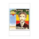 Haile Selassie I Mini Poster Print