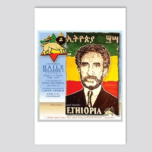 Haile Selassie I Postcards (Package of 8)