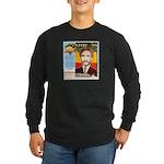 Haile Selassie I Long Sleeve Dark T-Shirt