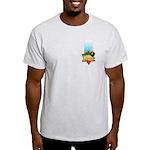 Haile Selassie I Ash Grey T-Shirt