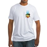 Haile Selassie I Fitted T-Shirt