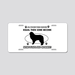 norfolk terrier mommy designs Aluminum License Pla