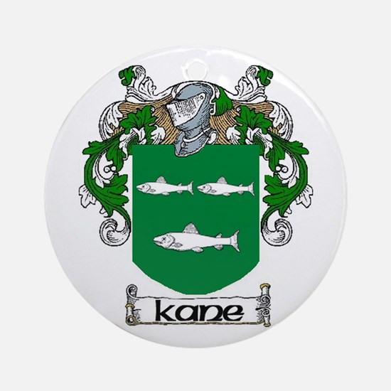 Kane Coat of Arms Ornament (Round)