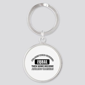 Cool Athletic Trainers designs Round Keychain