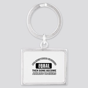 Cool Athletic Trainers designs Landscape Keychain
