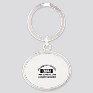 Cool Athletic Trainers designs Oval Keychain