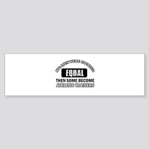 Cool Athletic Trainers designs Sticker (Bumper)