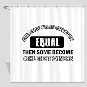 Cool Athletic Trainers designs Shower Curtain