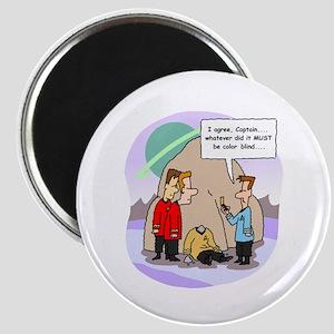 Star Trek Red Shirts Cartoon Magnets