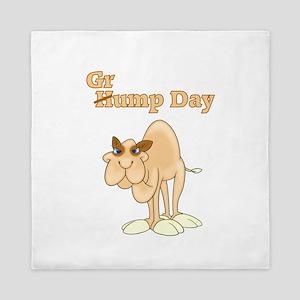 Wednesday Camel Queen Duvet