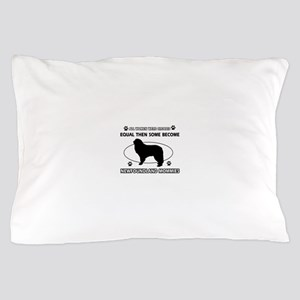 newfoundland mommy designs Pillow Case