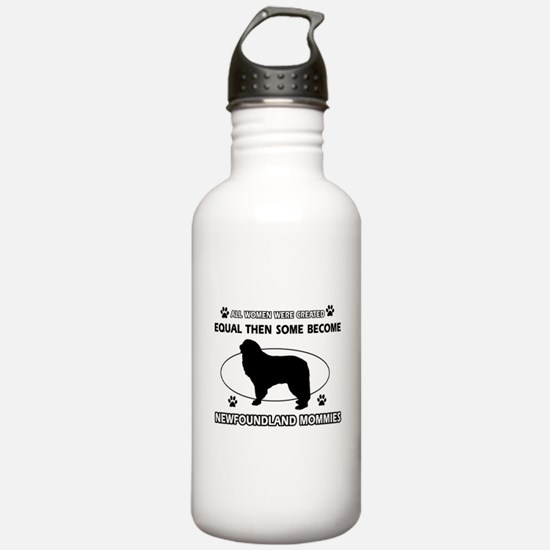 newfoundland mommy designs Water Bottle