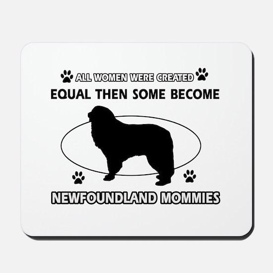 newfoundland mommy designs Mousepad