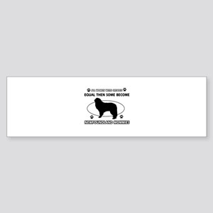 newfoundland mommy designs Sticker (Bumper)