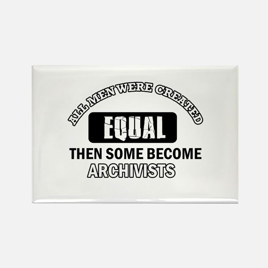 Cool Archivists designs Rectangle Magnet (100 pack