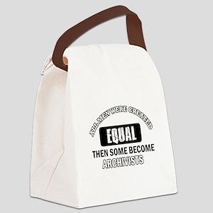 Cool Archivists designs Canvas Lunch Bag