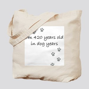 60 dog years 2-1 Tote Bag