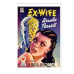 Postcards (pkg. 8) - 'Ex-Wife'