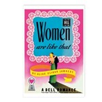 Postcards (pkg. 8)-'Women Are Like That'