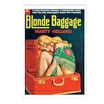 Postcards (pkg. 8) - 'Blonde Baggage'