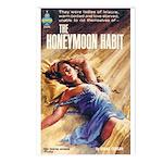 Postcards (pkg. 8)-'The Honeymoon Habit'