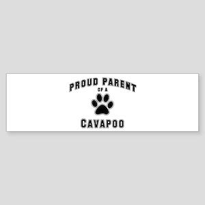 Cavapoo: Proud parent Bumper Sticker