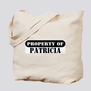 Property of Patricia Tote Bag