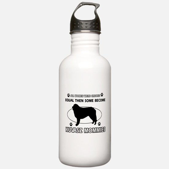 KUVASZ mommy designs Water Bottle