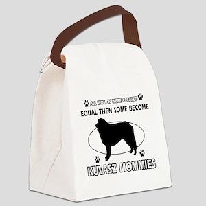 KUVASZ mommy designs Canvas Lunch Bag