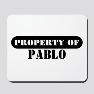 Property of Pablo Mousepad