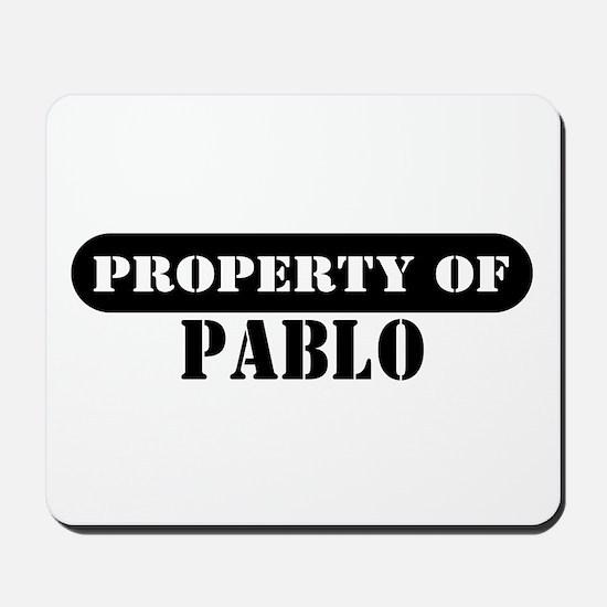 Property of Pablo Mousepad