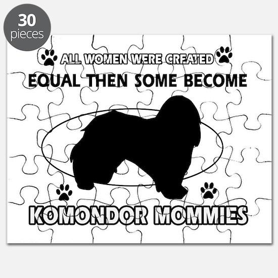 KOMONDOR mommy designs Puzzle