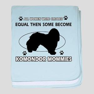 KOMONDOR mommy designs baby blanket