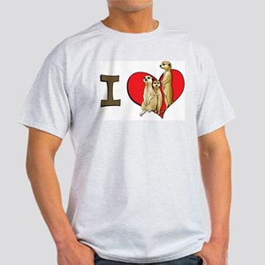 I heart meerkats Light T-Shirt