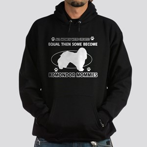 KOMONDOR mommy designs Hoodie (dark)