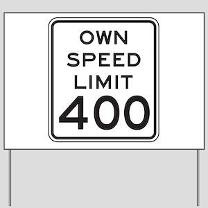 Town Speed Limit 40 alt1 Yard Sign