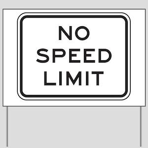 Town Speed Limit 40 alt4 Yard Sign