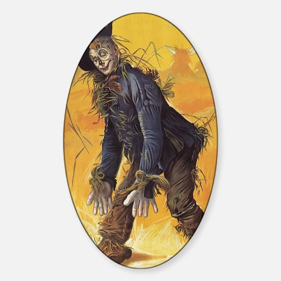 Vintage Wizard of Oz Sticker (Oval)
