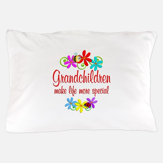 Special Grandchildren Pillow Case