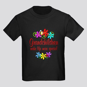Special Grandchildren Kids Dark T-Shirt